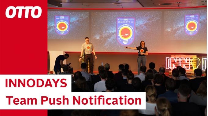 OTTO Innovation Days 2019  –  Team Push Notification | OTTO Jobs