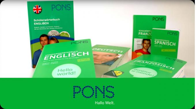 Der PONS Verlag in Stuttgart