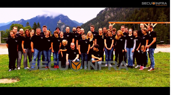 SECUINFRA Teamevent 2017 August - Eibsee