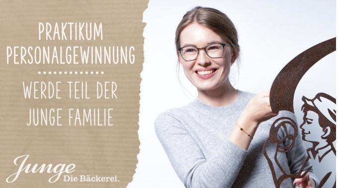 Lina - Praktikantin Personalgewinnung | WERDE TEIL DER JUNGE FAMILIE