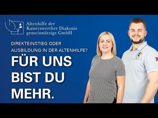 Karriere in der Altenpflege der Kaiserswerther Diakonie – Für uns bist Du mehr!