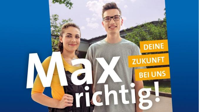 Max Richtig & Klara Kanns.  Berufliche Perspektiven für Personen mit Handicap.
