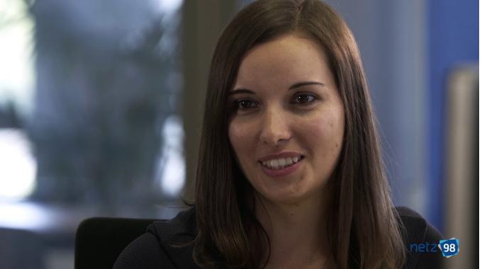 Maria Kern, Senior Frontend Architect bei netz98, erzählt ihre Geschichte (Kurzversion)