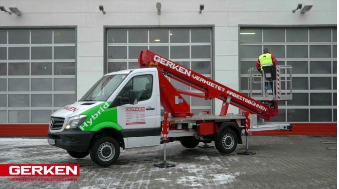 Gerken LKW-Arbeitsbühne: GL 18 L Hybrid