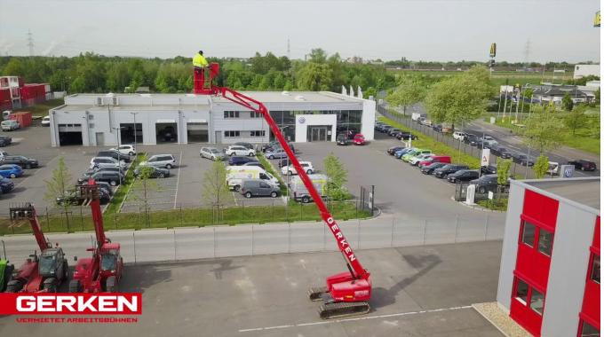 Gerken Ketten-Arbeitsbühne: GTK 160-24 k