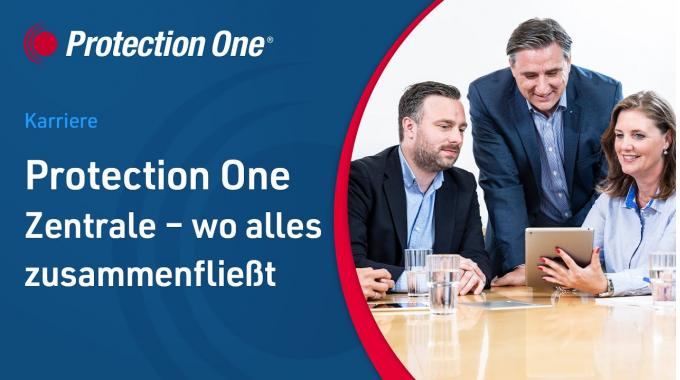 Protection One Zentrale - wo alles zusammenfließt