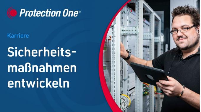 IT-Abteilung - Sicherheitsmaßnahmen entwickeln   Protection One