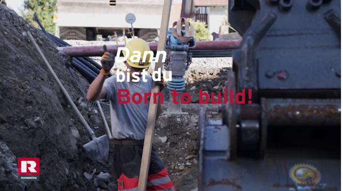 Starte deine Lehre im Tiefbau (m/w)   Born to build   Rhomberg Bau