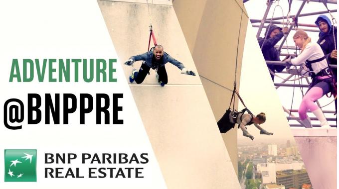 Dein Karrieresprung in die Immobilienbranche bei ADVENTURE@BNPPRE