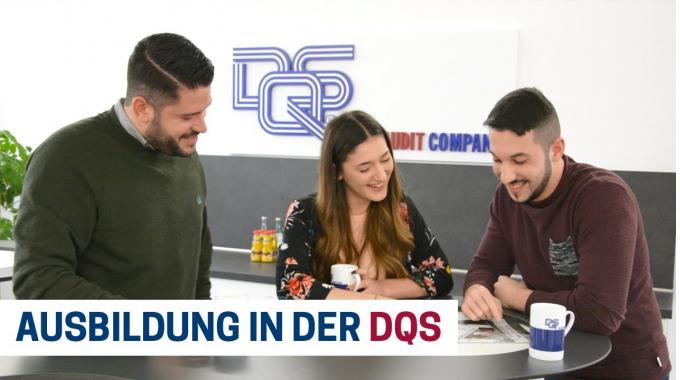 DQS Karriere: Ausbildung in der DQS GmbH