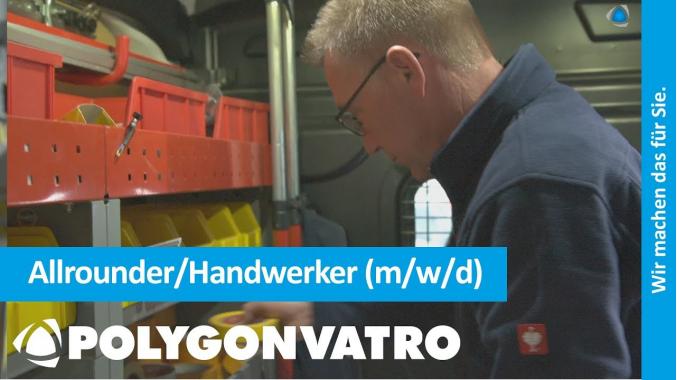 Karriere bei POLYGONVATRO – Allrounder/Handwerker (m/w/d)