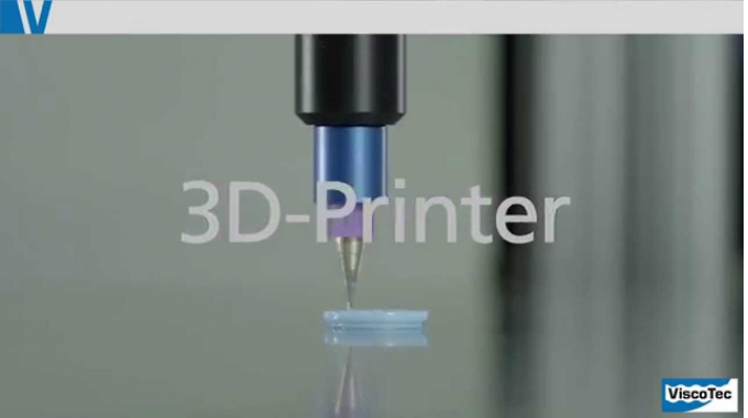 3D printing with ViscoTec - fluids and pastes