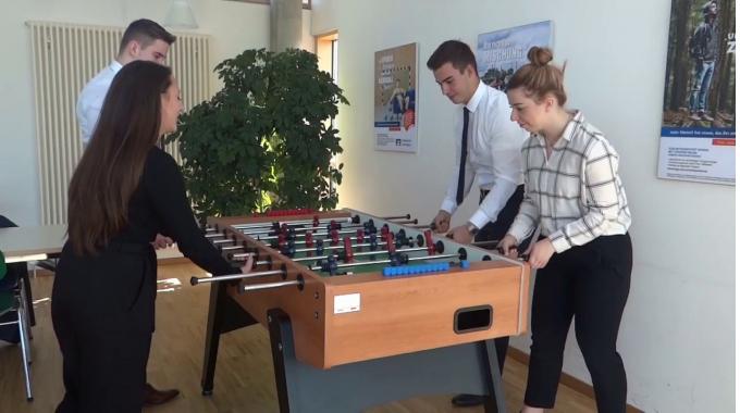 Wie sieht die Ausbildung bei der Volksbank Kraichgau aus?