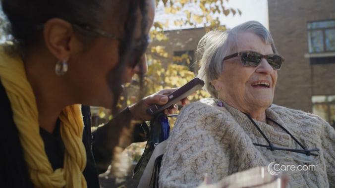 Senior Care - April & Nellie | Care.com Commercial (2020)