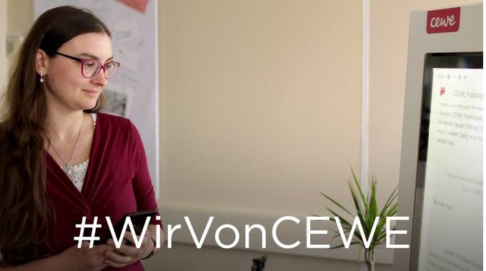 #WirVonCEWE – Softwareentwicklerin Silvia erzählt von ihrem Arbeitsalltag