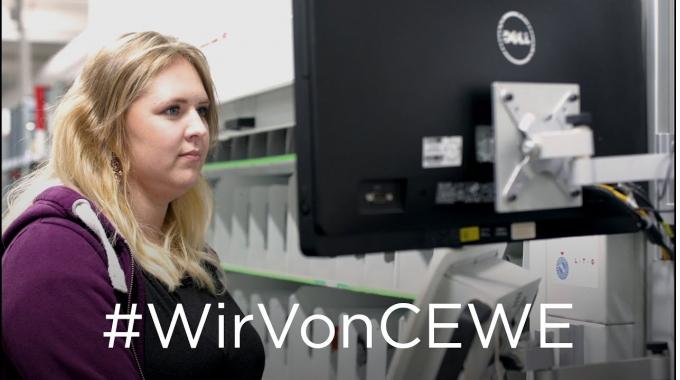 #WirVonCEWE – Produktionmitarbeiterin Inka erzählt von ihrem Arbeitsalltag