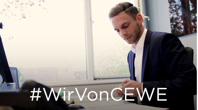 #WirVonCEWE – Steuerreferent Kevin erzählt von seinem Arbeitsalltag