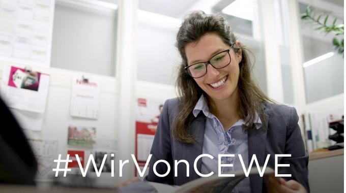 #WirVonCEWE – Personalreferentin Finja erzählt von ihrem Arbeitsalltag
