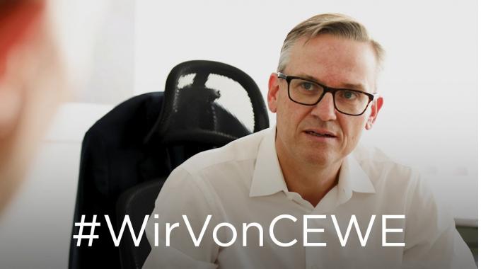 #WirVonCEWE – Vorstandsmitglied Patrick Berkhouwer erzählt von seinem Arbeitsalltag