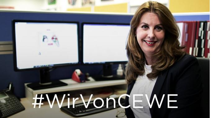 #WirVonCEWE – Teamleiterin Ilona erzählt von ihrem Arbeitsalltag