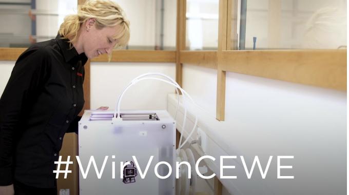 #WirVonCEWE – Technikerin Sylvia erzählt von ihrem Arbeitsalltag