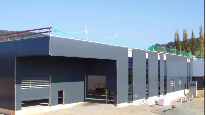 Baufortschritt Dittrich & Greipl GmbH Werk II