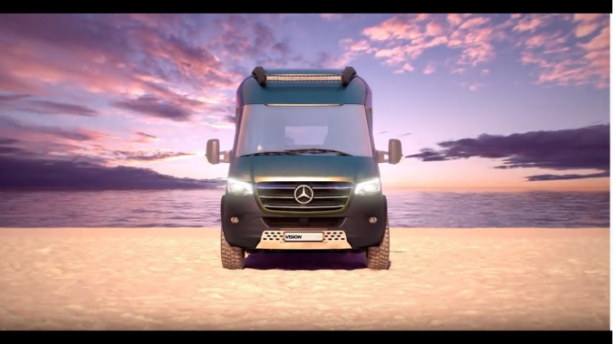 Vanlife exclusive: HYMER Concept Car VisionVenture