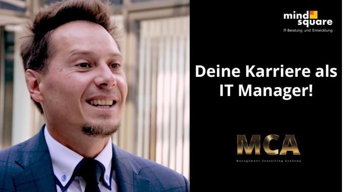 MCA: Karriere als IT Manager