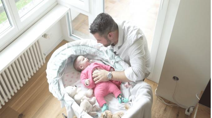14 weeks minimum paid parental leave at Novartis. This is Michael's story.