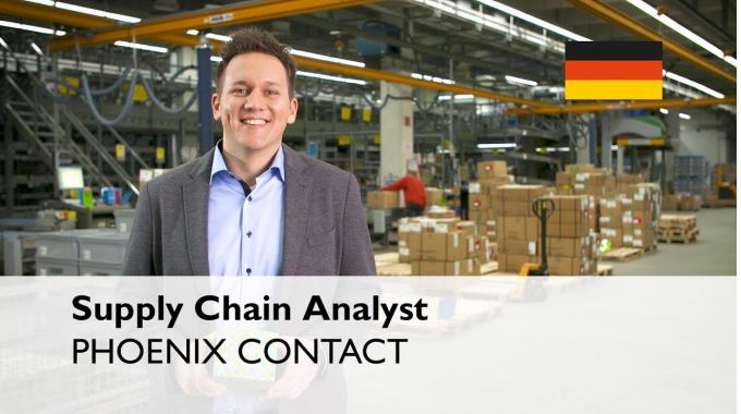 Was macht ein Supply Chain Analyst in der Logistik bei PHOENIX CONTACT? – ...