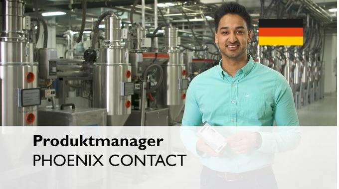 Was macht ein Produktmanager bei PHOENIX CONTACT?