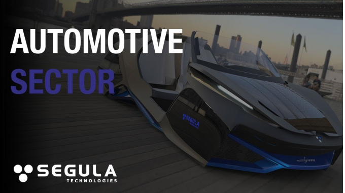 Automotive sector at Segula Technologies - 2017