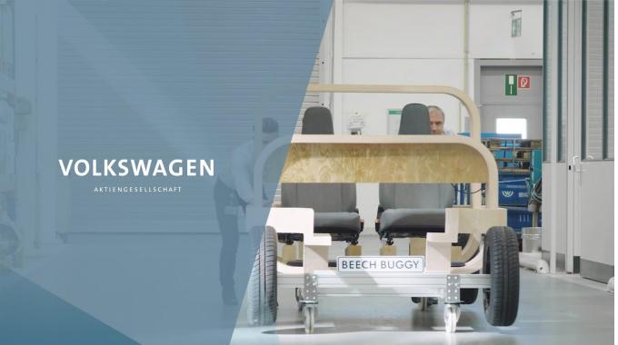 Autos aus Holz – Volkswagen Doktorandentag 2019 mit Armin Aniol