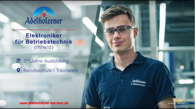Elektroniker für Betriebstechnik (m/w/d) - Ausbildung bei Adelholzener