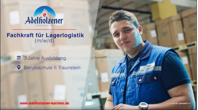 Fachkraft für Lagerlogistik (m/w/d) - Ausbildung bei Adelholzener