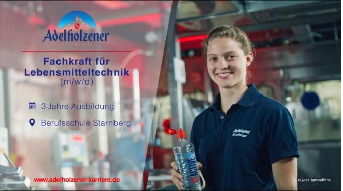 Fachkraft für Lebensmitteltechnik (m/w/d) - Ausbildung bei Adelholzener