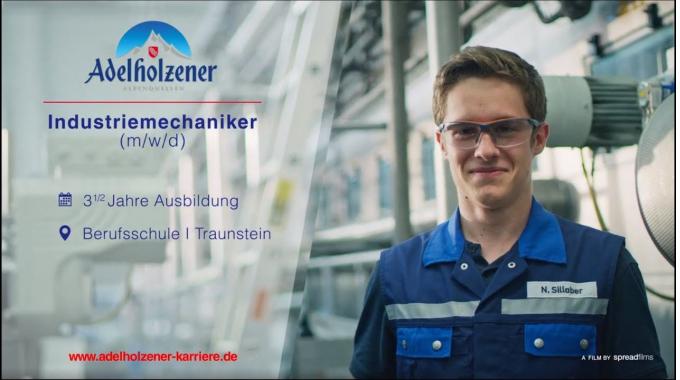 Industriemechaniker (m/w/d) - Ausbildung bei Adelholzener
