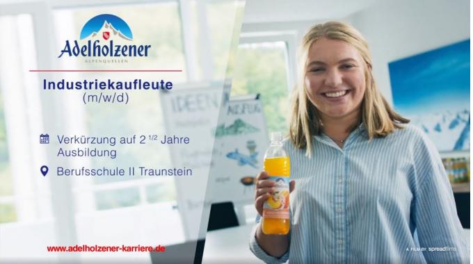 Industriekaufleute (m/w/d) - Ausbildung bei Adelholzener
