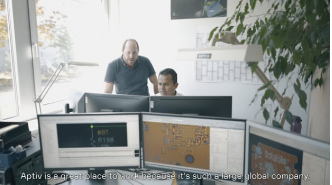Shape the Future of Mobility with Aptiv (2019)