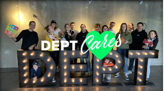 Dept Cares Day 2019