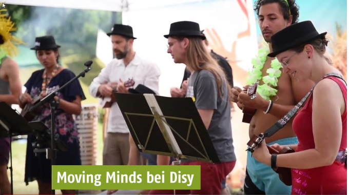 Moving Minds bei Disy
