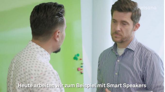 Leiter Health Platform: Arbens Arbeitstag in Dübendorf-Stettbach | #1