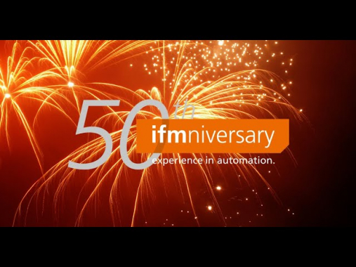 Impressions and quotes of the PR event on the occasion of ifm's 50th anniversary
