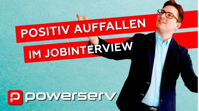 Positiv auffallen im Job-Interview -  wie man bei Bewerbungen positiv im Gedächtnis ...