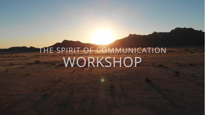 SPIRIT-Indianer: 3. Workshop 2019: The Spirit of Communication Workshop
