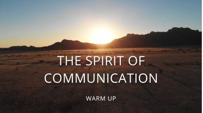 The Spirit of Communication Biergarten Warm Up