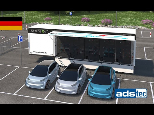 """ADS-TEC - """"Mobile High Power Charger"""" die leistungsstärkste mobile Schnellladelösung"""