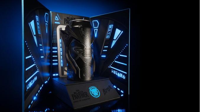Leuchtende Verpackung für PepsiCo | Marvel Studios | Black Panther Movie