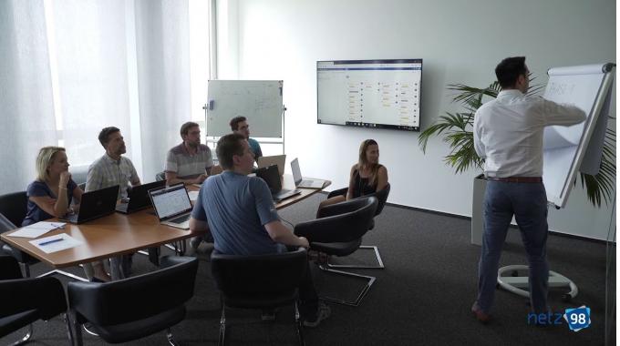 netz98 agile - Unsere Arbeitsmethode