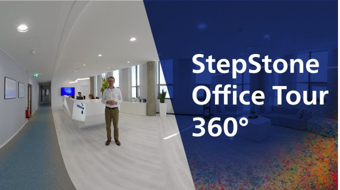 360° Office Tour bei StepStone in Düsseldorf I emotions